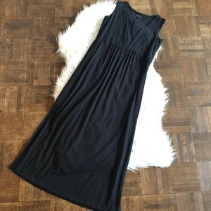 J. Jill Dresses - J Jill Wearever XS Black Sleeveless Maxi Dress